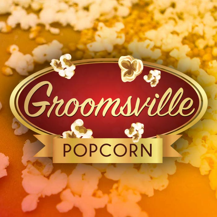 Groomsville Popcorn – 2lb Bag (Local Pickup Only)